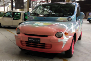 Fiat Multipla Folon 1999 en el Heritage HUB FCA de Turín