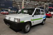 Fiat Panda Elettra 1990 en el Heritage HUB FCA de Turín