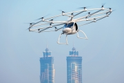 Dron taxi Volocopter 2X en Dubai (Imagen: Karlsruhe Nikolay Kazakov)