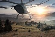 Dron taxi autónomo Volocopter 2X