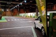 Pista de demostración de coches eléctricos