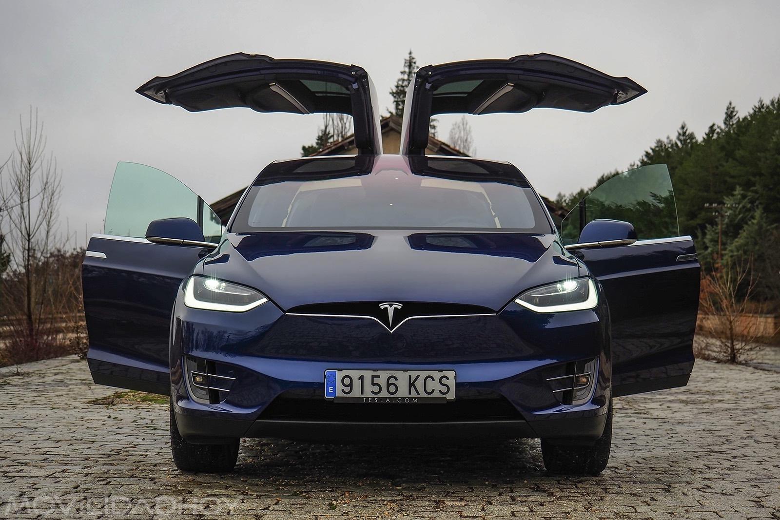 Probamos El Tesla Model X Es Posible Viajar En Un Coche