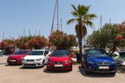 Viajar coche gas GNC Seat Ibiza TGI Madrid-Valencia-Barcelona