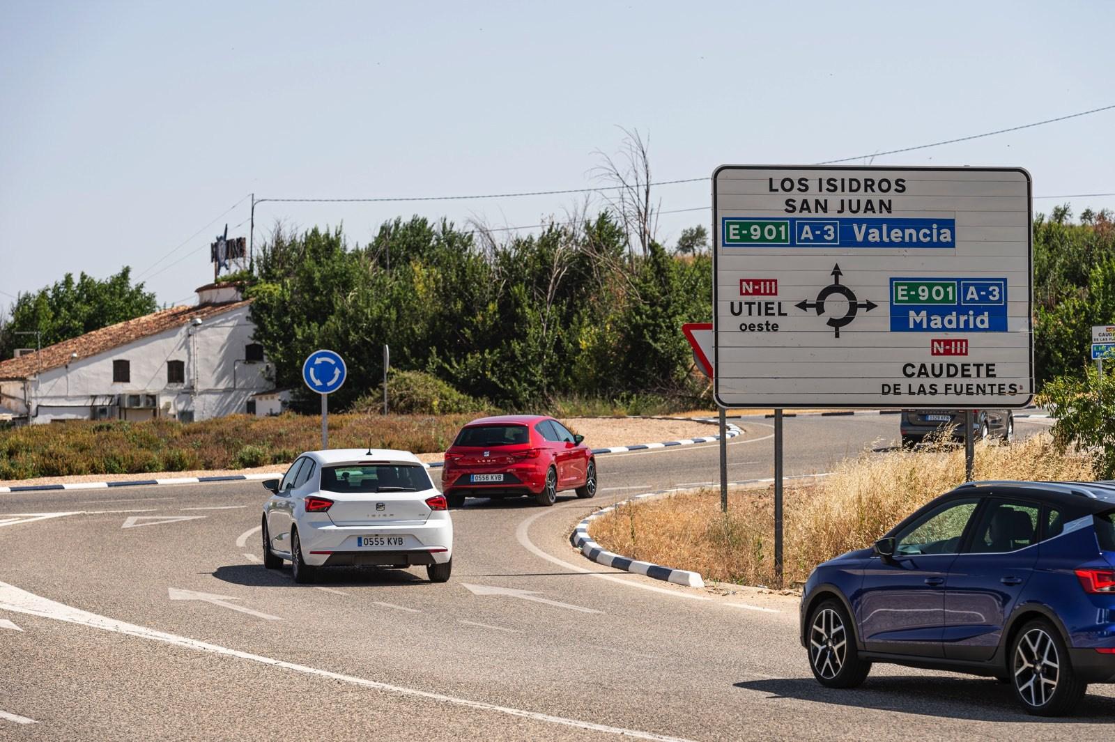 Seat Ibiza TGI Madrid-Valencia-Barcelona