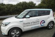 Vuelta a España en Vehículo Eléctrico 2018. Kia Soul EV