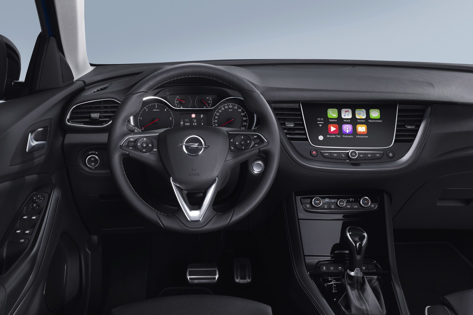 Prueba Opel GrandLand X salpicadero