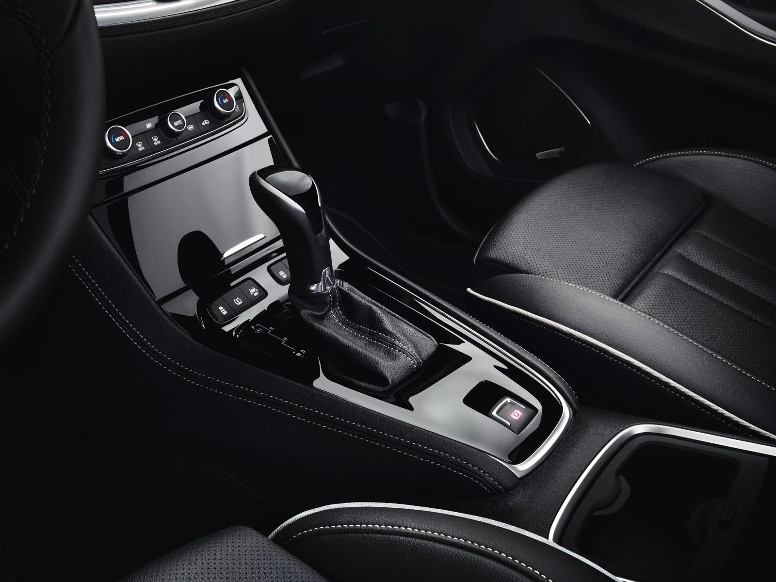Interior Prueba Opel GrandLand X