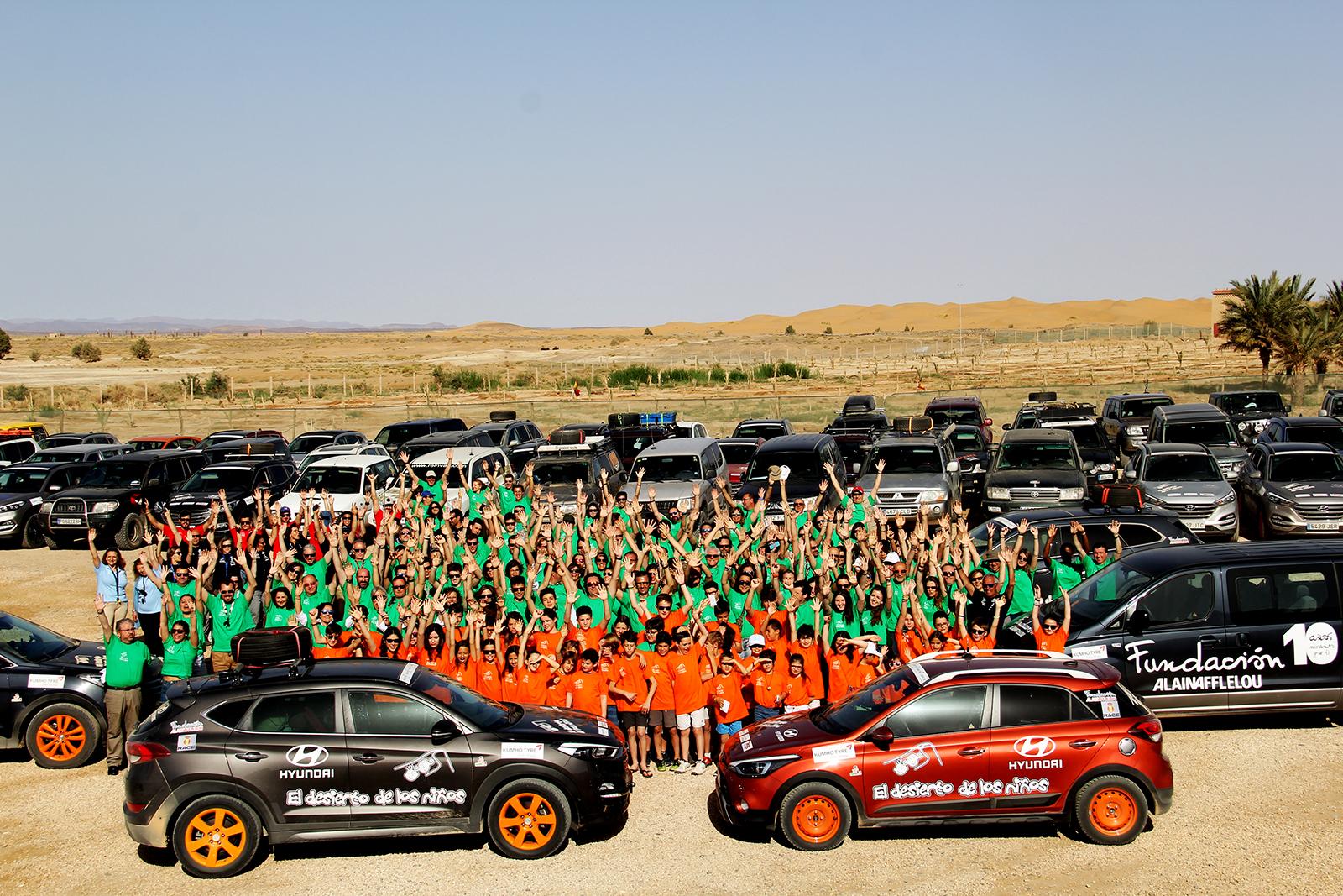 Hyundai en El Desierto de los Niños