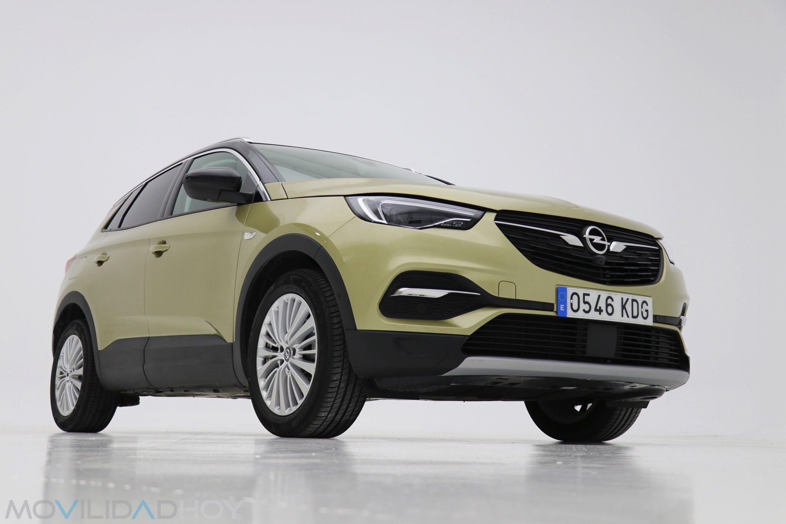 Prueba Opel GrandLand X en estudio