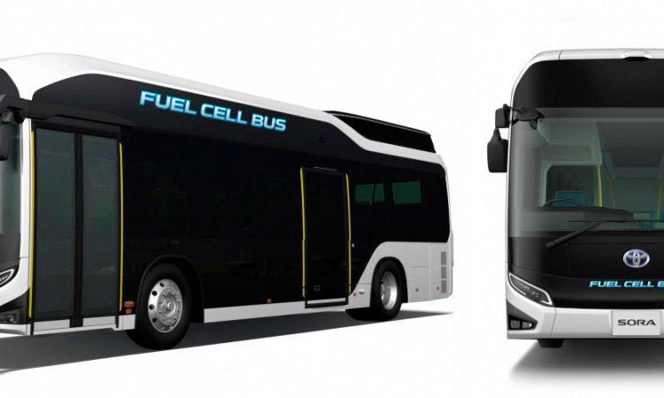 Toyota Sora, autobús pila de combustible