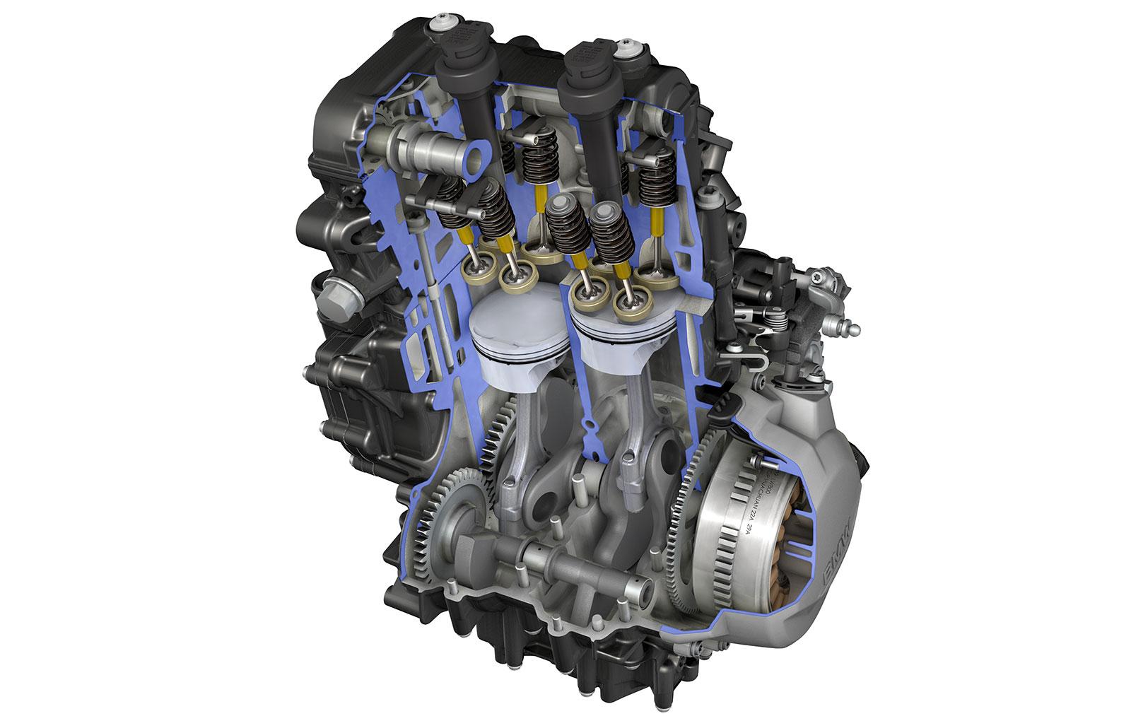 Motor BMW F 850 GS