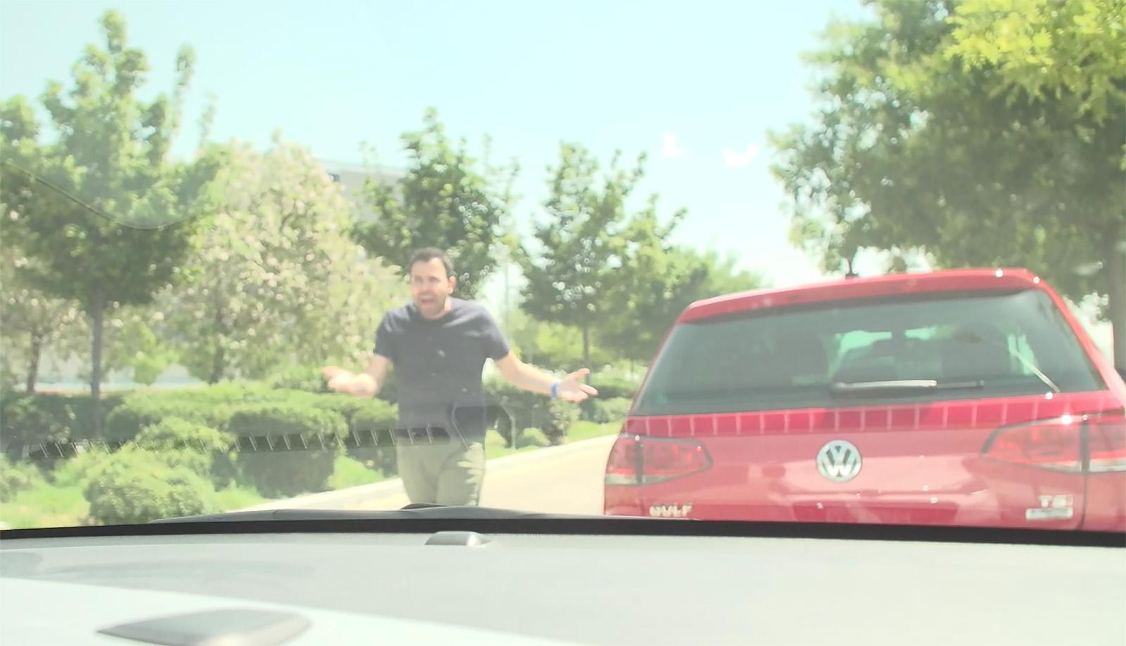 Conductor agresivo