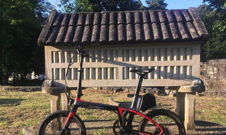 camino santiago bici electrica