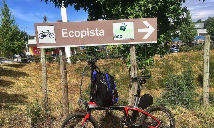 Camino de Santiago en bicicleta eléctrica plegable Ebroh Passione
