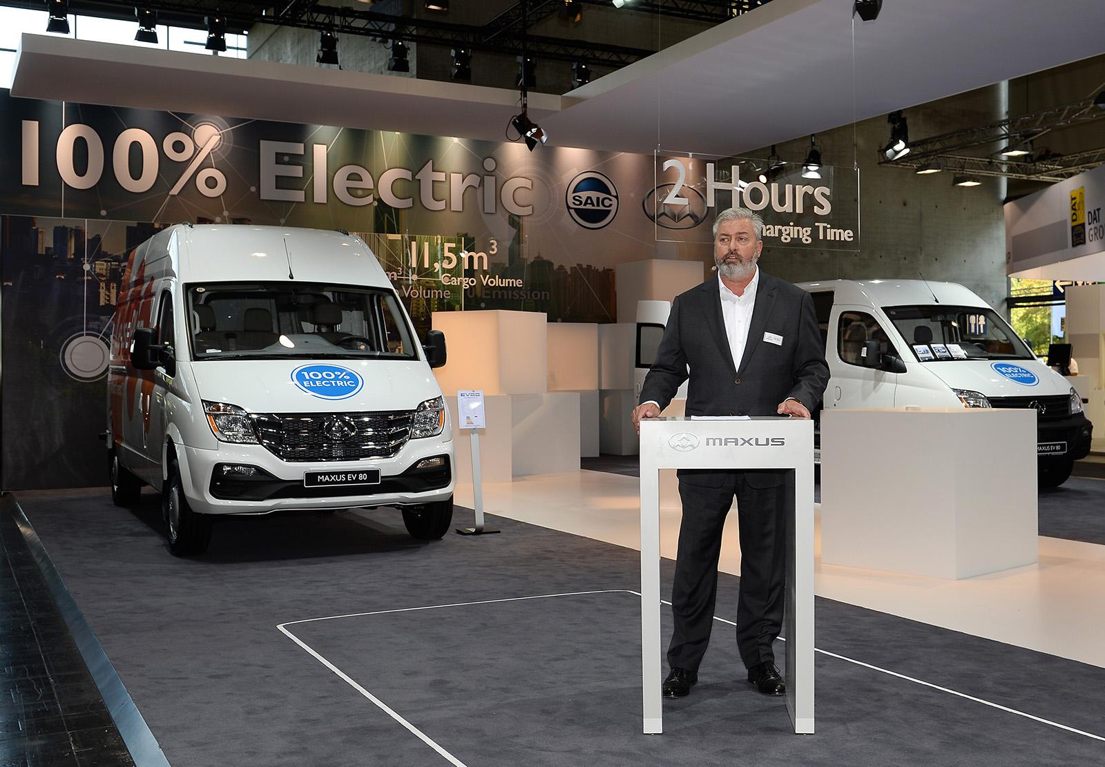 Maxus EV80 furgoneta eléctrica