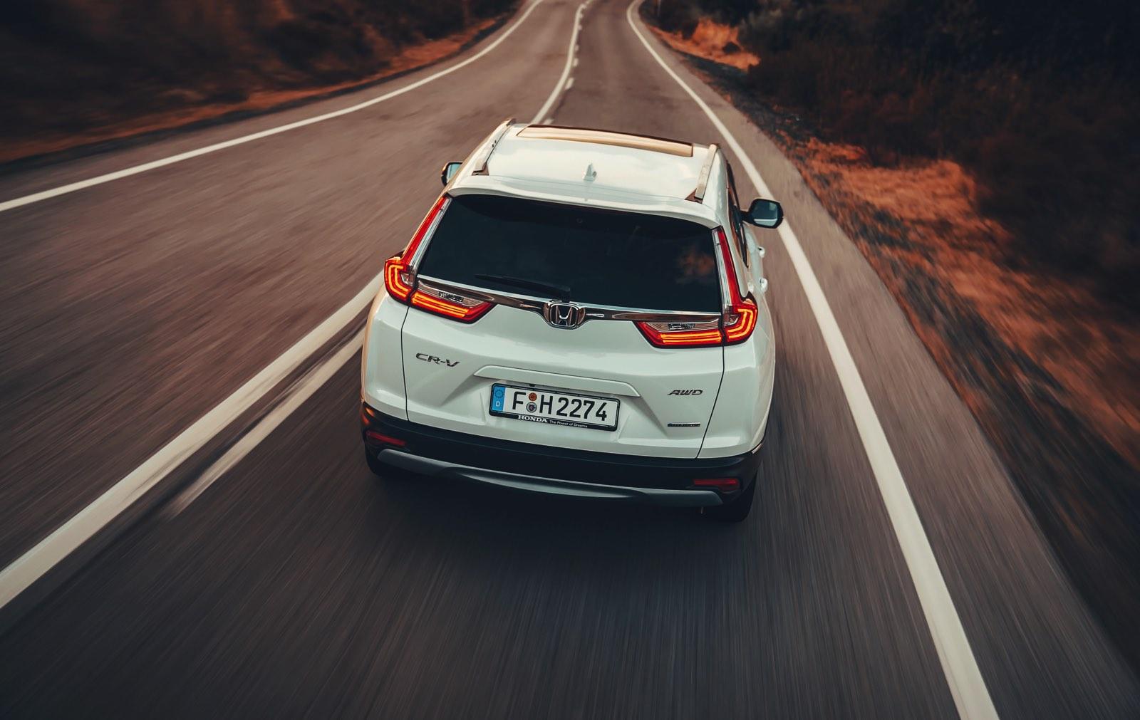 Honda CR-V Hybrid. SUV híbrido