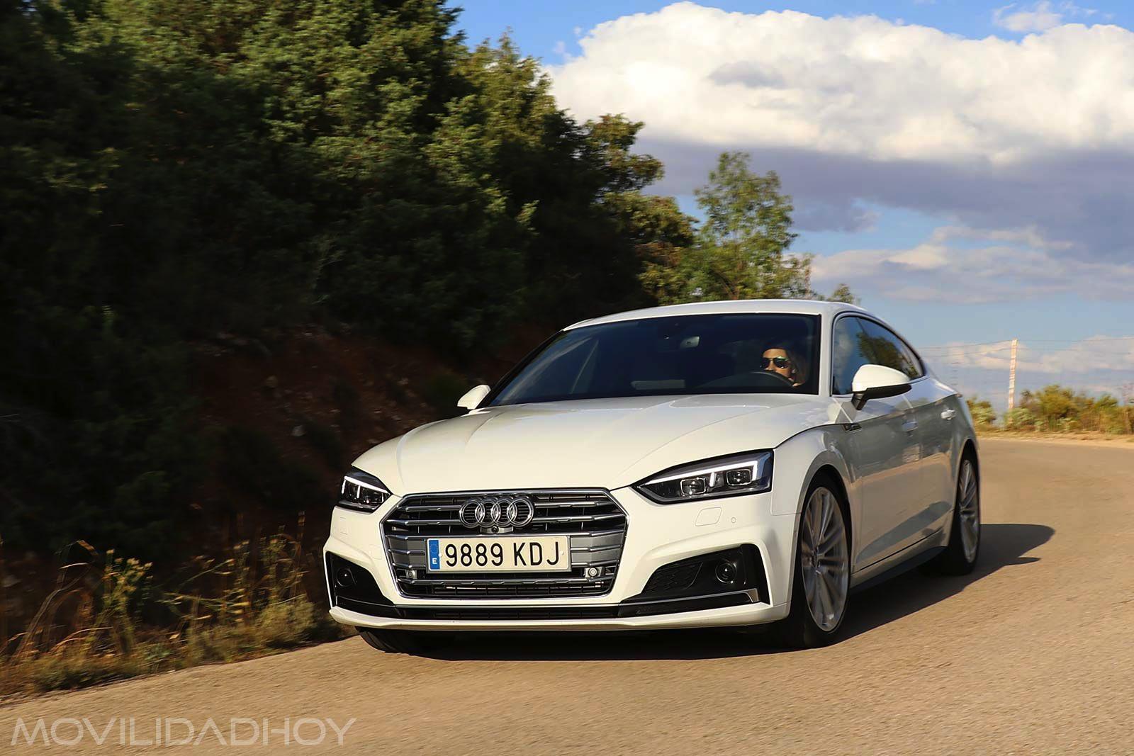 Prueba Audi A5 g-tron Sportback
