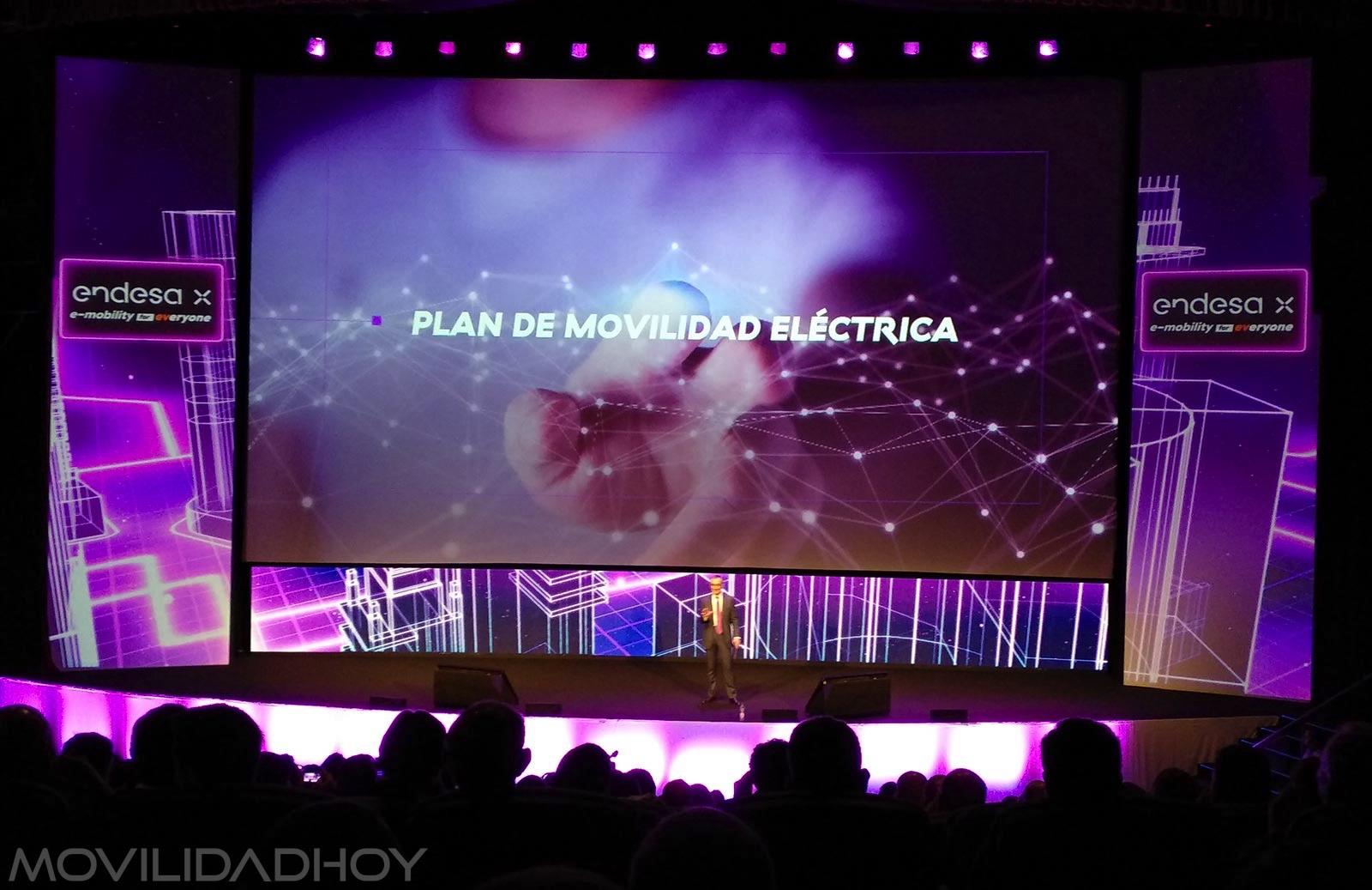 Presentación del Plan de Movilidad Eléctrica de Endesa X en Madrid
