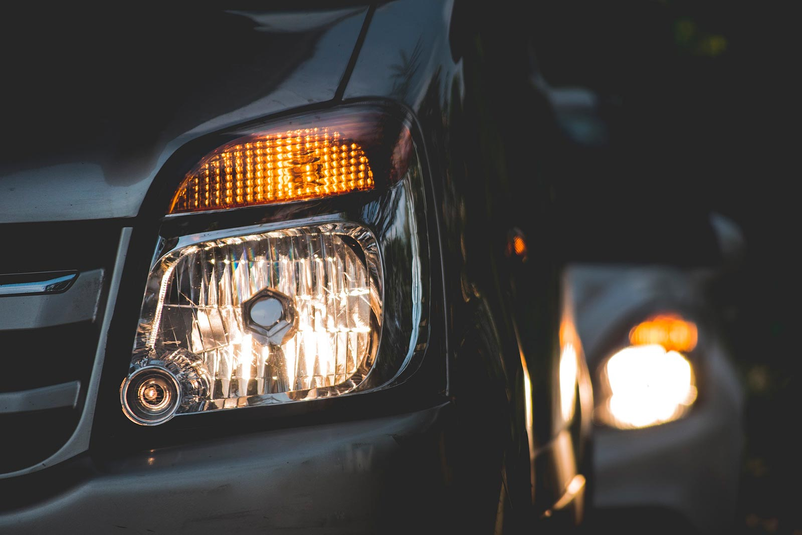 Revisar luces en el coche