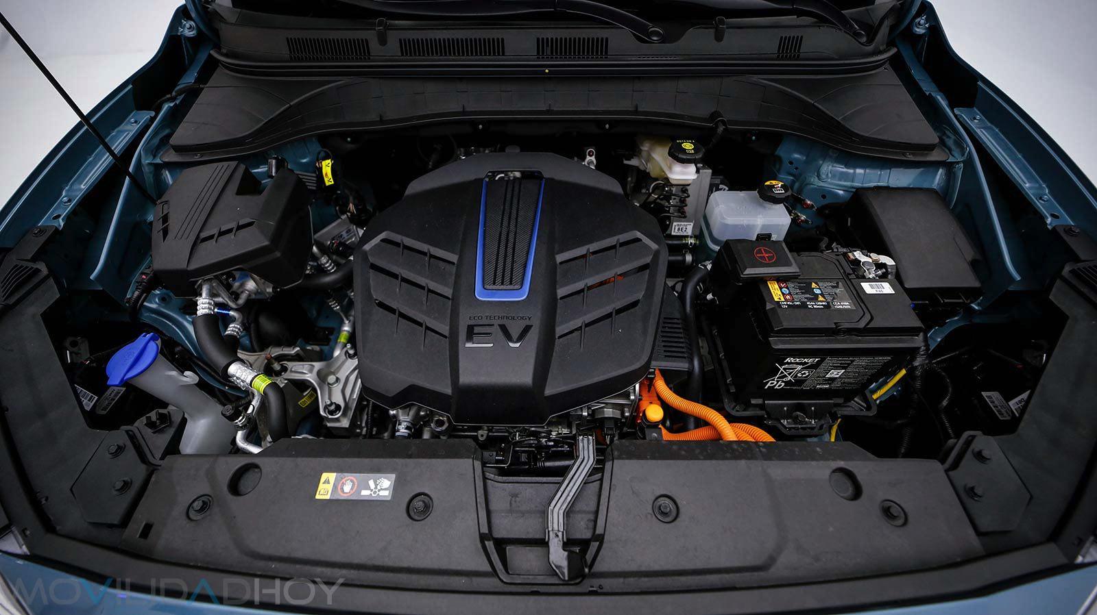Motor del Hyundai Kona EV