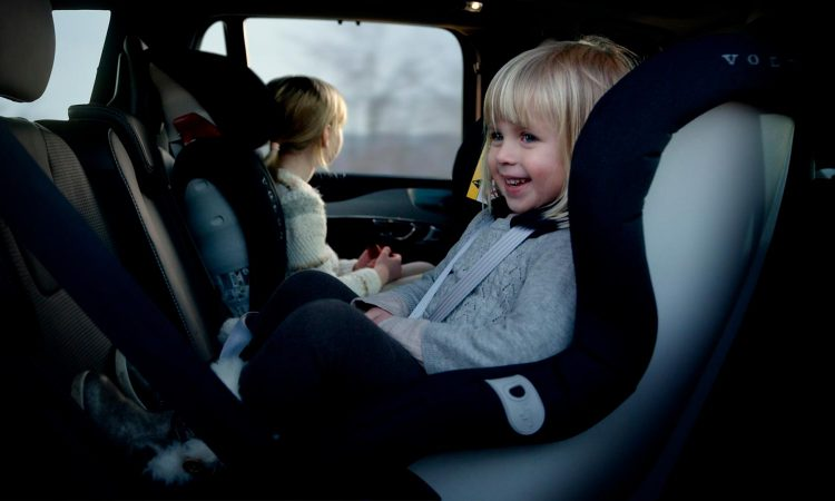 Sistema de retención infantil Volvo