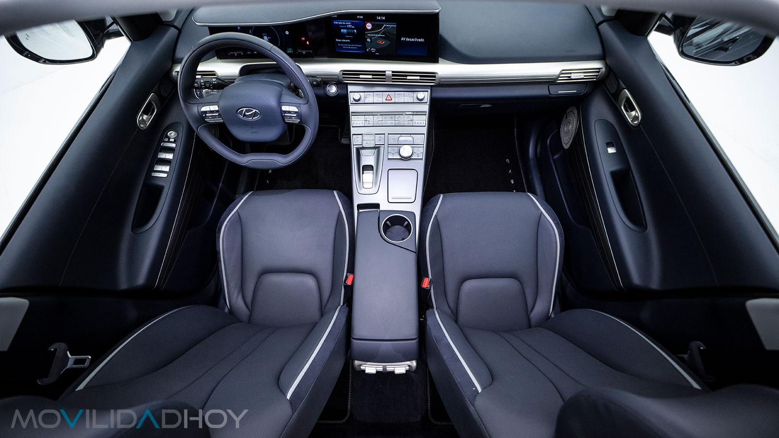 Plzas delanteras del Hyundai Nexo