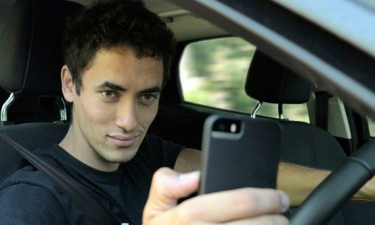Selfie al volante