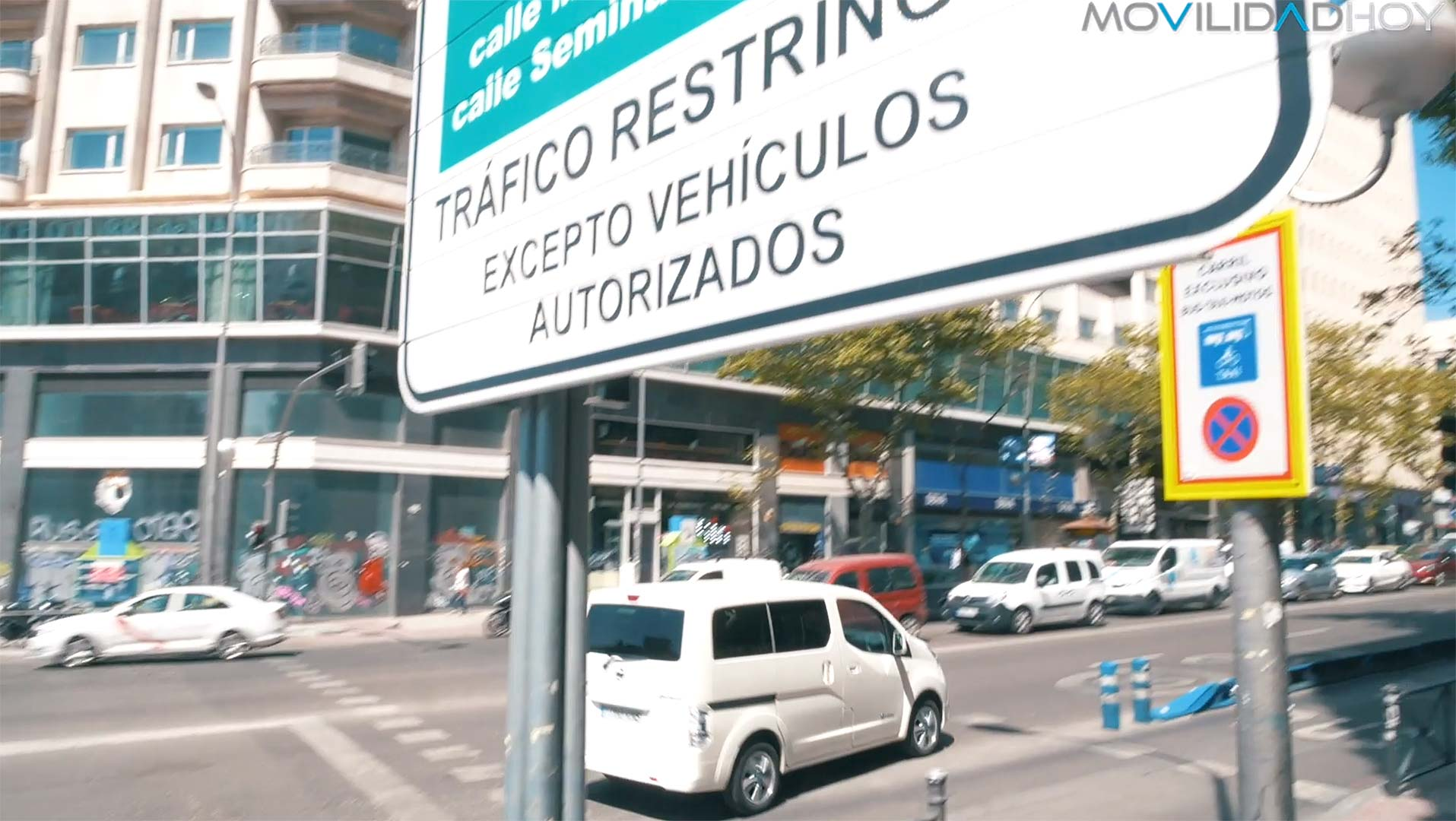 Furgo eléctrica en Madrid