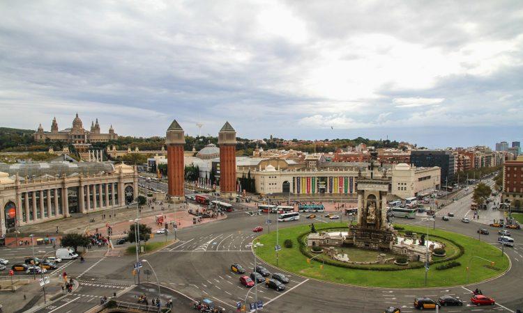Calles de Barcelona Montjuic