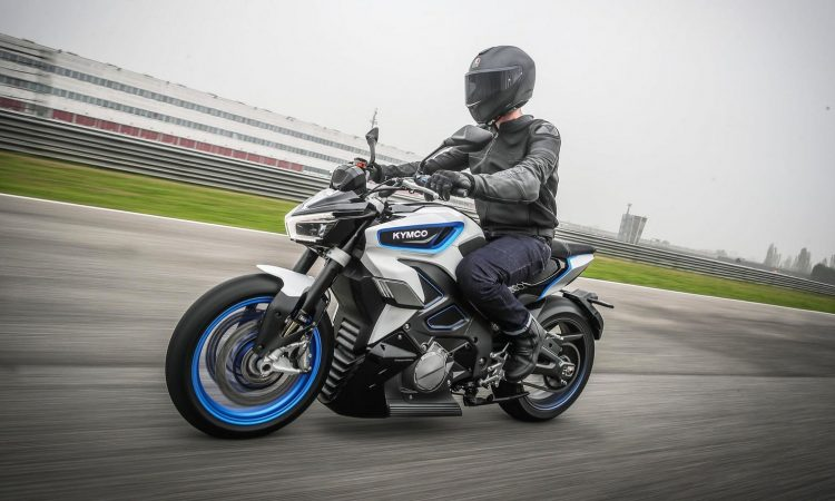 Kymco Revonex, moto eléctrica