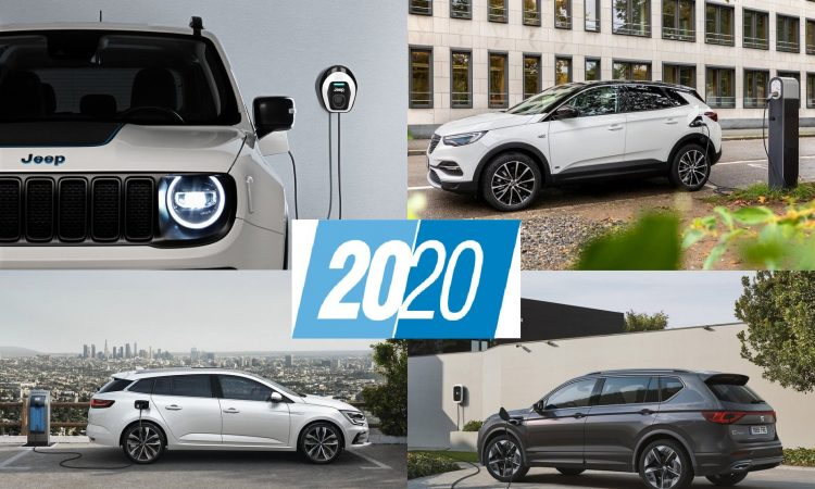 Coches híbridos enchufables 2020